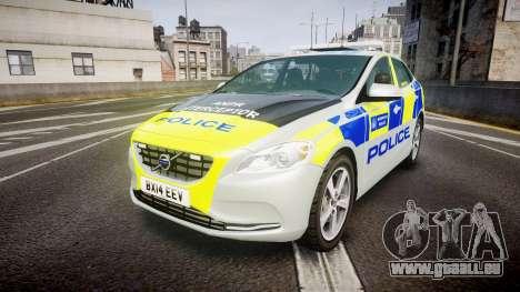 Volvo V40 Metropolitan Police [ELS] pour GTA 4