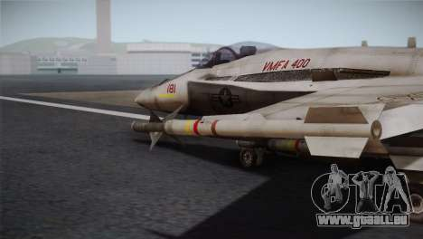 F-18 Hornet (Battlefield 2) für GTA San Andreas rechten Ansicht