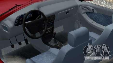 Daewoo Espero 2.0 CD 1996 für GTA 4 Innenansicht