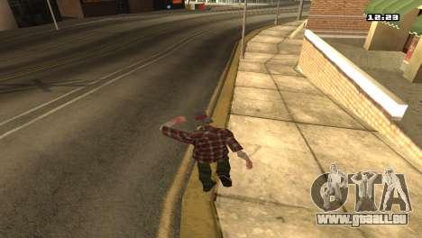 Gemischte Kampfkünste für GTA San Andreas zweiten Screenshot