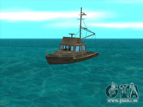 Reefer из GTA 3 für GTA San Andreas