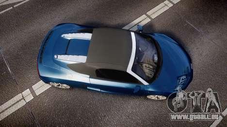 Audi R8 Spyder 2014 [EPM] pour GTA 4 est un droit