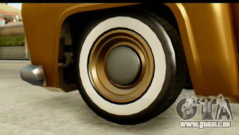 EFLC TLaD Vapid Slamvan pour GTA San Andreas sur la vue arrière gauche