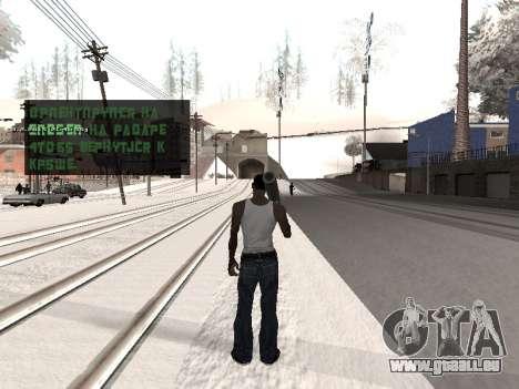 Colormod v5 pour GTA San Andreas quatrième écran