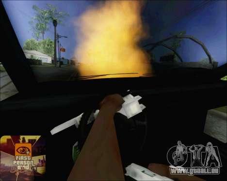 À cheval sur l'soufflé voitures pour GTA San Andreas troisième écran