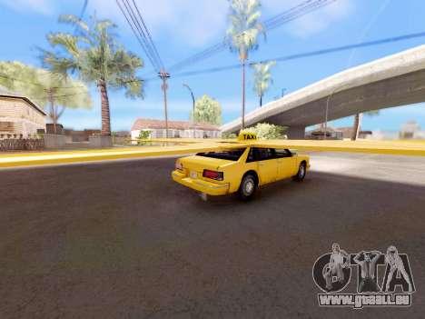 Ailes de taxi pour GTA San Andreas laissé vue