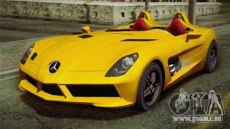 Mercedes-Benz SLR McLaren Stirling Moss pour GTA San Andreas