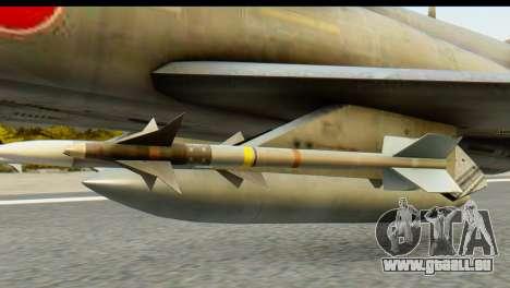 F-4EJ Mitsubishi Heavy Industries pour GTA San Andreas vue de droite