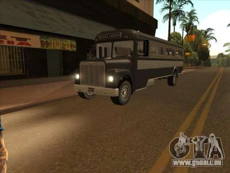 Bus из de GTA 3 pour GTA San Andreas