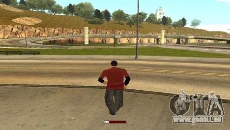 SprintBar für GTA San Andreas dritten Screenshot