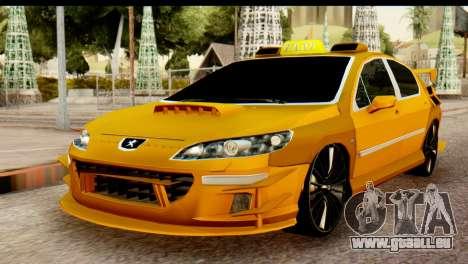 Peugeot 407 Sport Taxi pour GTA San Andreas