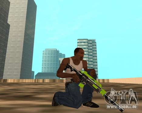 Sharks Weapon Pack für GTA San Andreas her Screenshot
