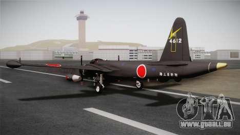 P2V-7 Lockheed Neptune RCAF für GTA San Andreas linke Ansicht