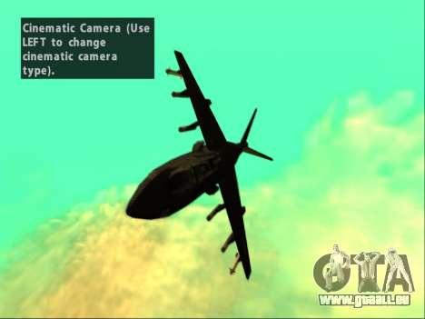 McDonnell Douglas AV-8B Harrier II Beta für GTA San Andreas Seitenansicht