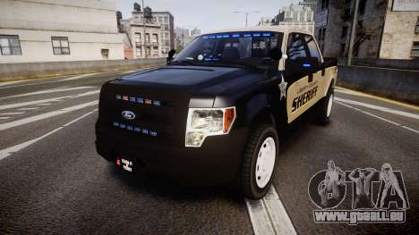 Ford F150 Liberty County Sheriff [ELS] Slicktop pour GTA 4