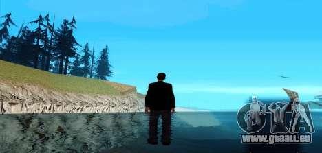 Marcher sur l'eau pour GTA San Andreas