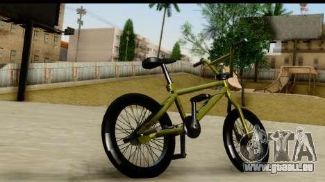 GTA 5 BMX für GTA San Andreas linke Ansicht