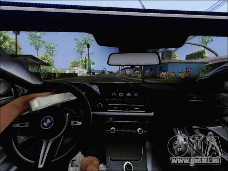BMW M6 Cabriolet 2012 pour GTA San Andreas vue de droite