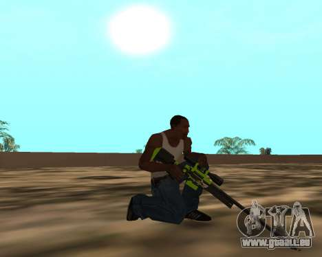 Sharks Weapon Pack für GTA San Andreas zehnten Screenshot