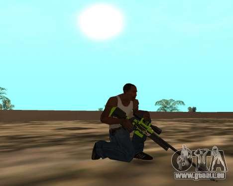 Sharks Weapon Pack pour GTA San Andreas dixième écran