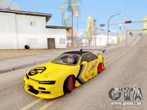 Le contrôle réel de GTA 4 pour GTA San Andreas deuxième écran