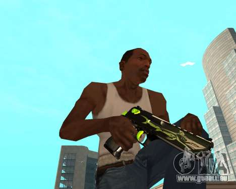 Sharks Weapon Pack pour GTA San Andreas