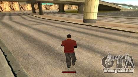 SprintBar für GTA San Andreas her Screenshot