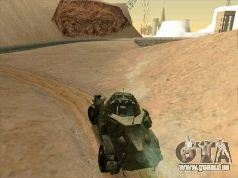 SdKfz.222 für GTA San Andreas rechten Ansicht