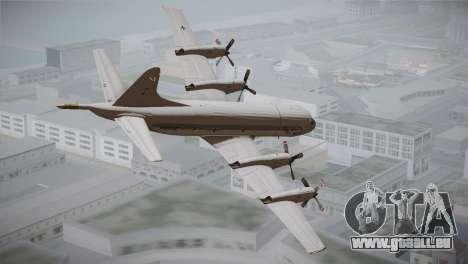 German Navy P-3C Orion MFG 3 50th Anniversary pour GTA San Andreas laissé vue