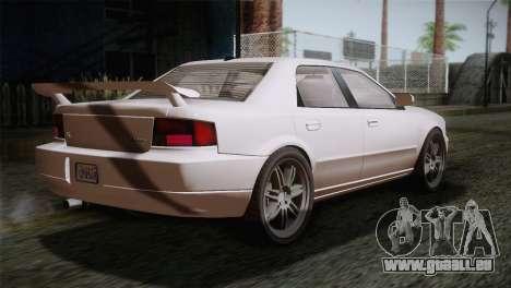 MP3 Fathom Lemanja LX SA Mobile pour GTA San Andreas laissé vue
