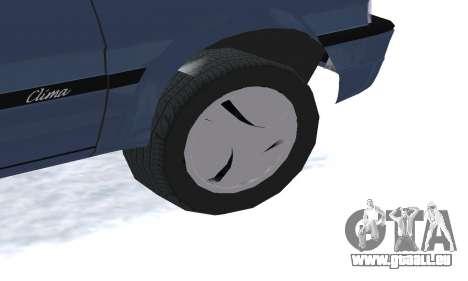 Dacia Super Nova pour GTA San Andreas vue de côté