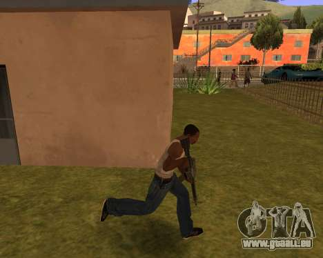 New Animation by EazyMo für GTA San Andreas dritten Screenshot