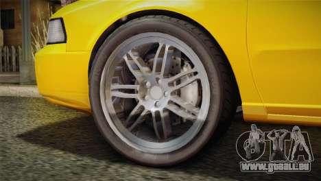 MP3 Fathom Lemanja LX pour GTA San Andreas sur la vue arrière gauche