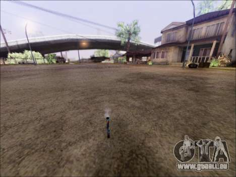 Lancer Des Feux D'Artifice pour GTA San Andreas deuxième écran