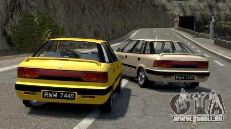 Daewoo Espero 2.0 CD 1996 für GTA 4 Unteransicht