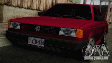 Volkswagen Senda pour GTA San Andreas vue arrière