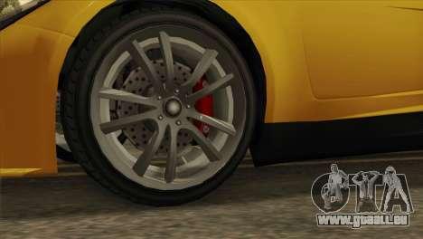 GTA 5 Coil Voltic v2 SA Mobile pour GTA San Andreas sur la vue arrière gauche