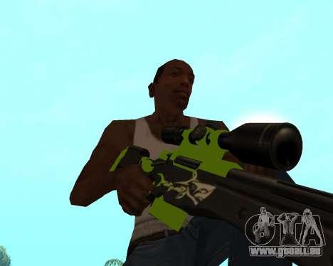 Sharks Weapon Pack pour GTA San Andreas onzième écran