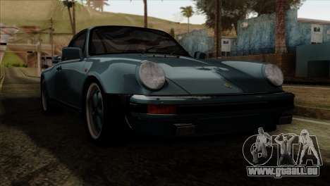 Porsche 911 Turbo 3.3 Coupe 930 1981 pour GTA San Andreas