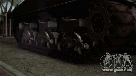 M4 Sherman für GTA San Andreas rechten Ansicht