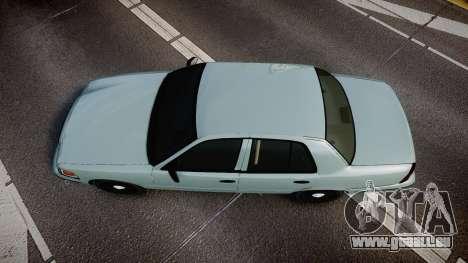 Ford Crown Victoria 2007 pour GTA 4 est un droit