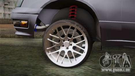 Nissan Cedric pour GTA San Andreas sur la vue arrière gauche
