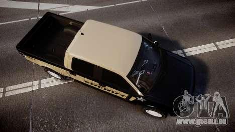 Ford F150 Liberty County Sheriff [ELS] Slicktop für GTA 4 rechte Ansicht