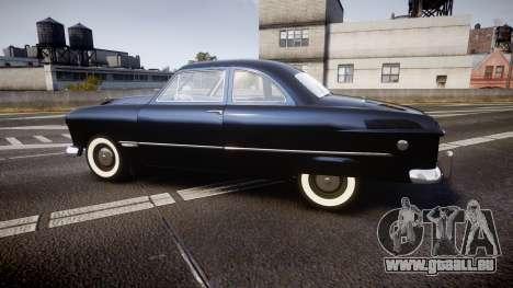 Ford Custom Club 1949 v2.1 pour GTA 4 est une gauche