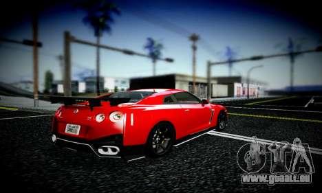Blacks Med ENB pour GTA San Andreas deuxième écran