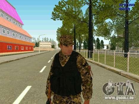 Pfeile Miliz DND für GTA San Andreas zweiten Screenshot