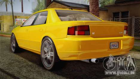 MP3 Fathom Lemanja LX für GTA San Andreas linke Ansicht