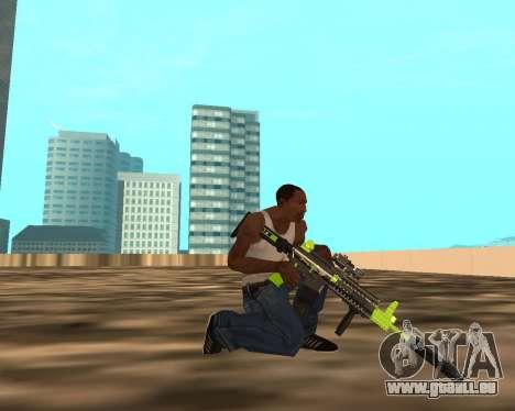 Sharks Weapon Pack für GTA San Andreas sechsten Screenshot