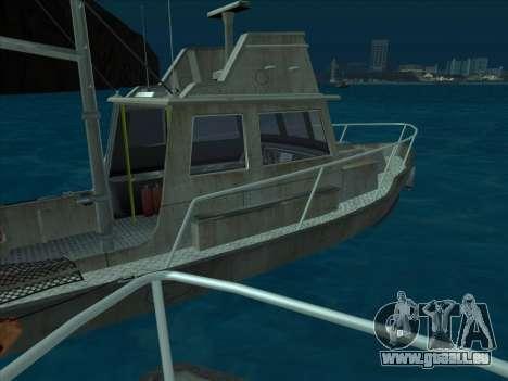 Reefer из GTA 3 für GTA San Andreas Rückansicht