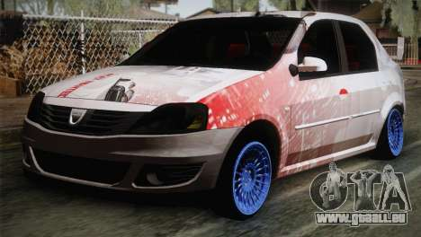 Dacia Logan Most Wanted Edition v1 für GTA San Andreas